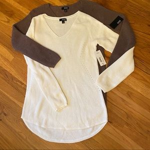 2 a.n.a. Lightweight sweaters brand new small